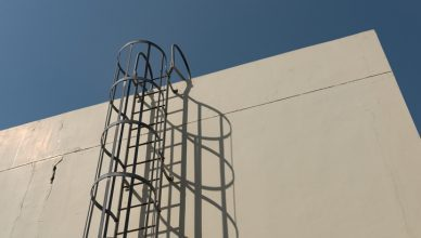 Fixed Ladder Cage ANSI ASC A14.3